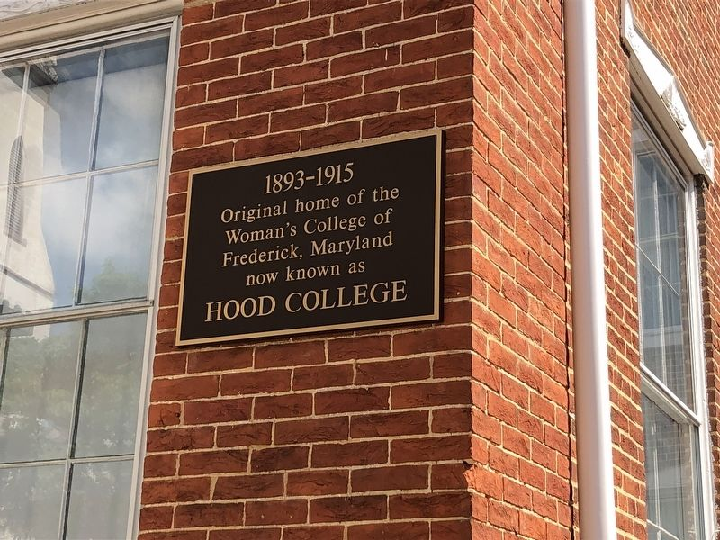 Hood College Marker image. Click for full size.