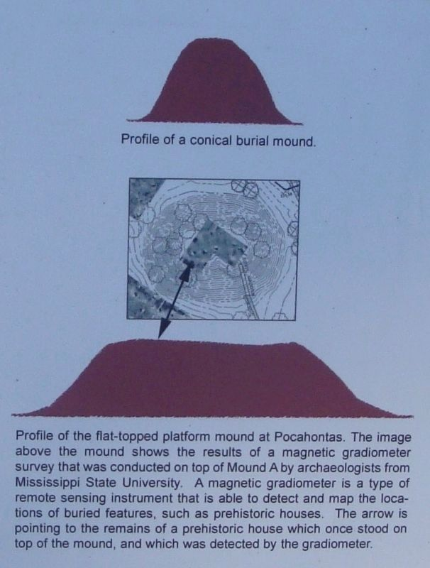 Conical Burial Mound image. Click for full size.