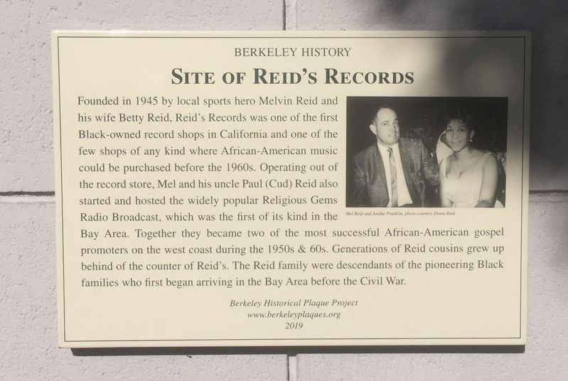 Site of Reid's Records Marker image. Click for full size.