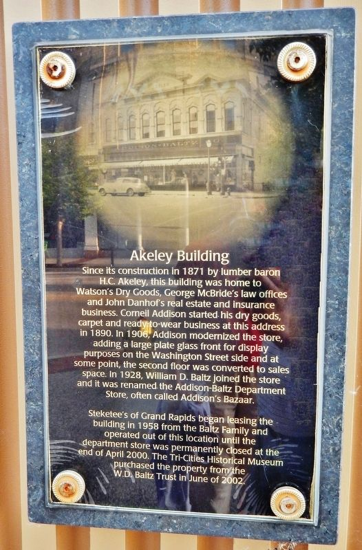 Akeley Building Marker image. Click for full size.