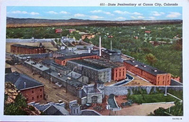 <i>State Penitentiary at Canon City, Colorado</i> image. Click for full size.