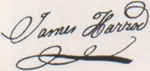 James Harrod Signature