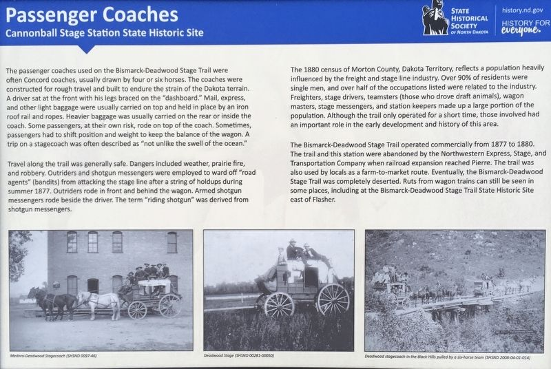 Passenger Coaches Marker image. Click for full size.