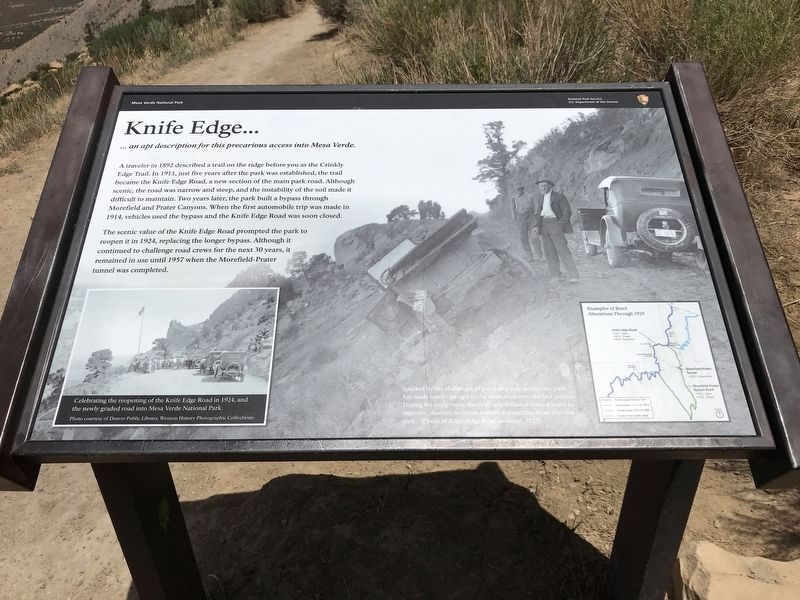 Knife Edge Marker image. Click for full size.