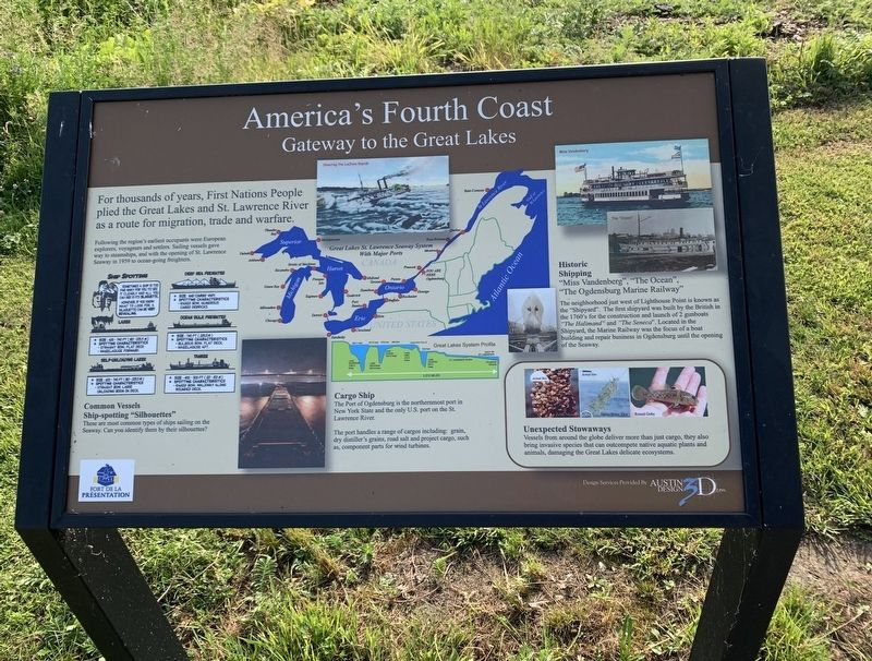 America's Fourth Coast Marker image. Click for full size.