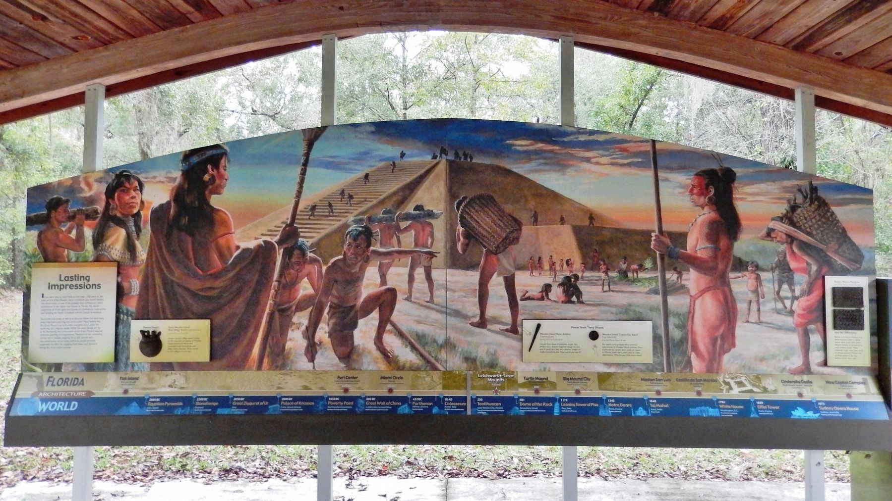 Lasting Impressions Marker & Great Mound Construction Mural image. Click for full size.