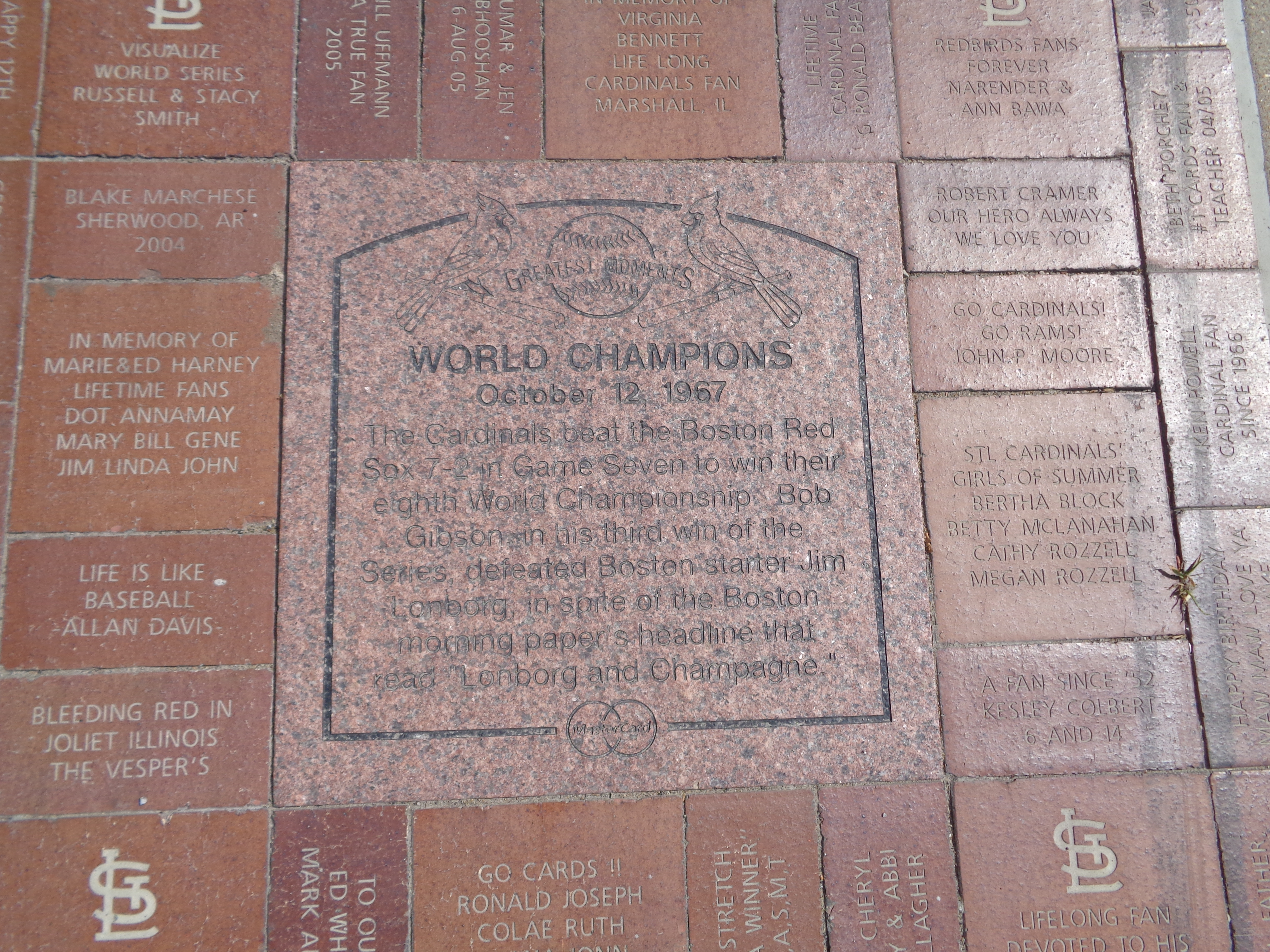 World Champions Marker