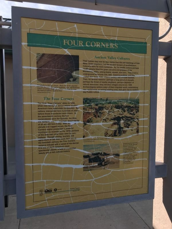 Four Corners Marker image. Click for full size.