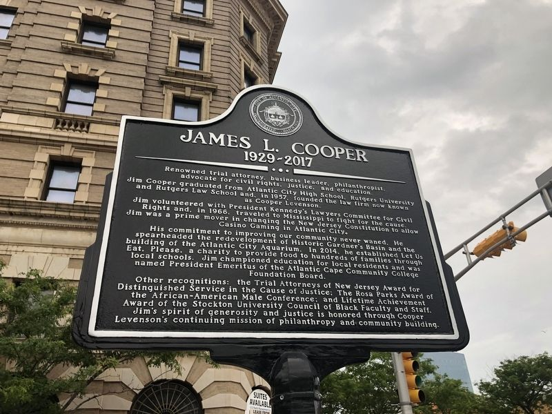James L. Cooper Marker image. Click for full size.
