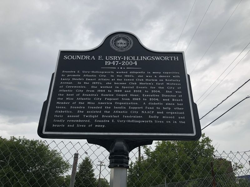 Soundra E. Usry-Hollingsworth Marker image. Click for full size.