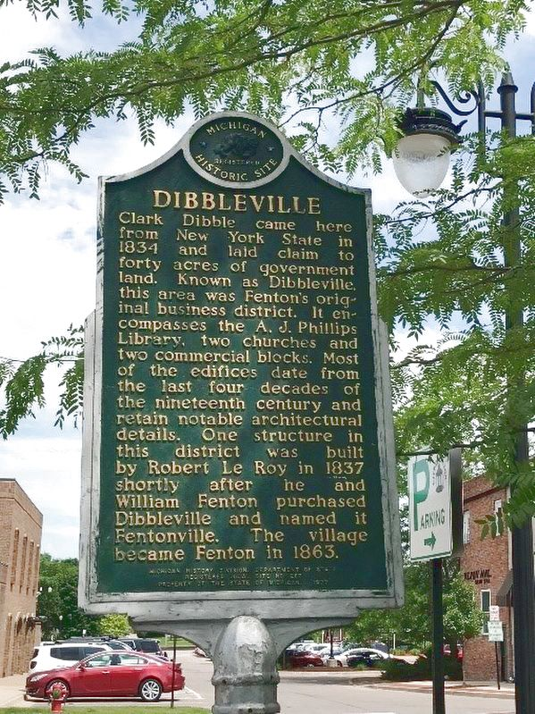 Dibbleville Marker image. Click for full size.