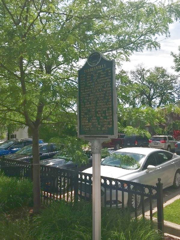 Dibbleville Historical Marker image. Click for full size.