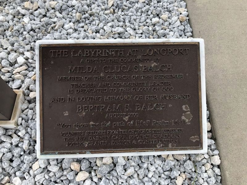 Plaque on the ground to the right of the marker image. Click for full size.