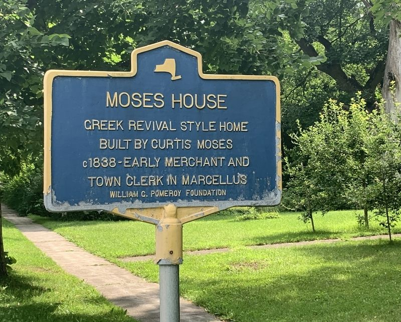 Moses House Marker image. Click for full size.