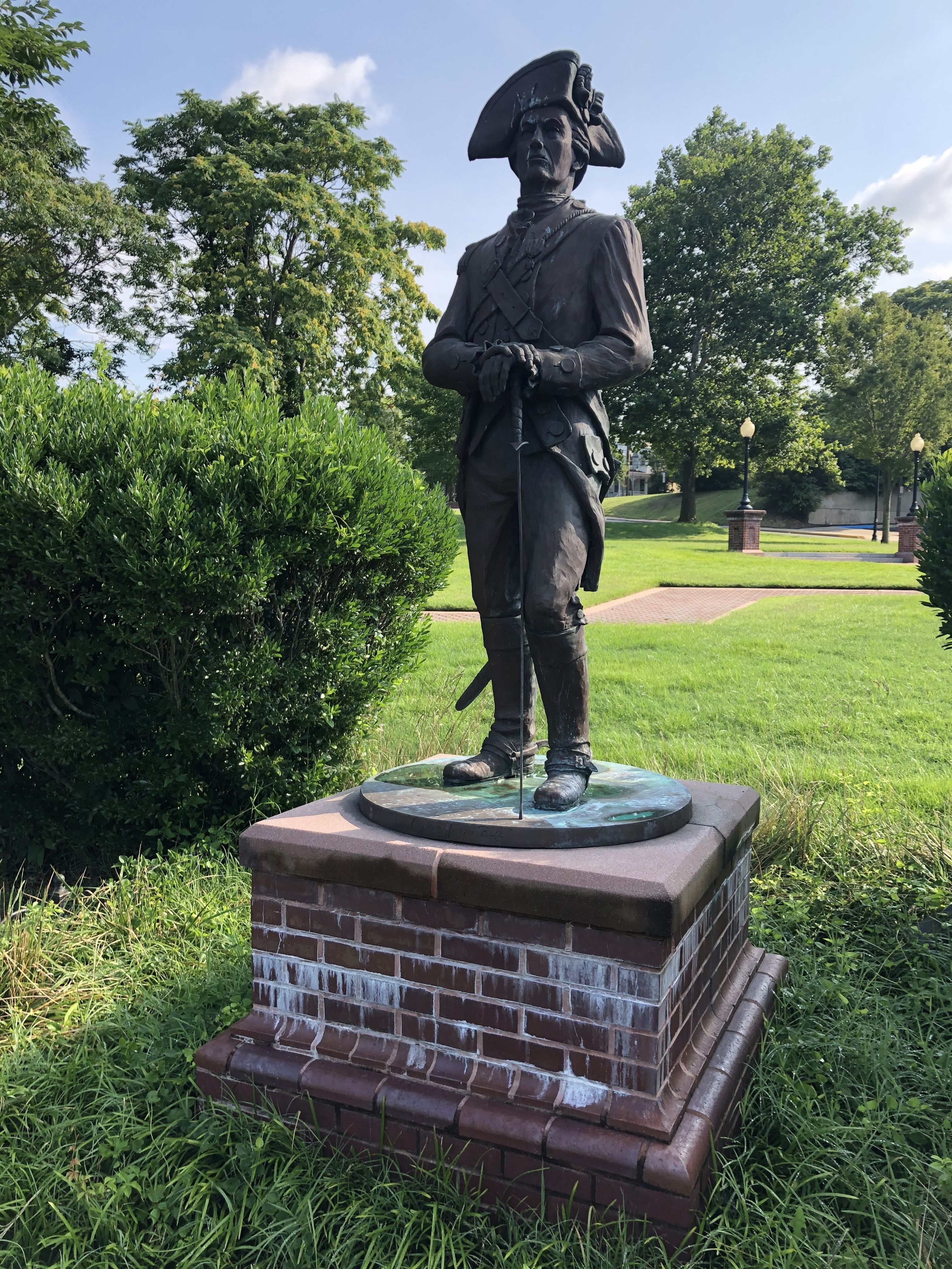 Captain Joseph Buck statue