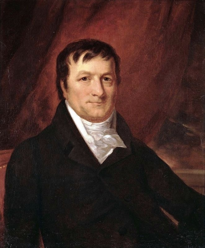 John Jacob Astor (1763-1848) image. Click for full size.