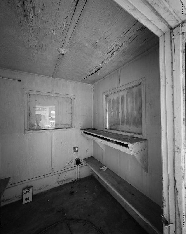 <i>Interior view of A279, facing northeast...</i> image. Click for full size.