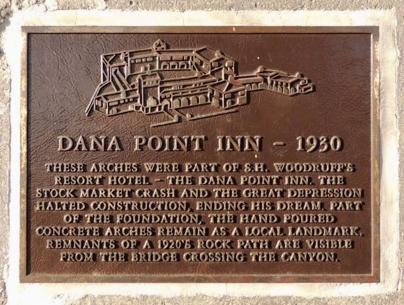 Dana Point Inn Marker image. Click for full size.