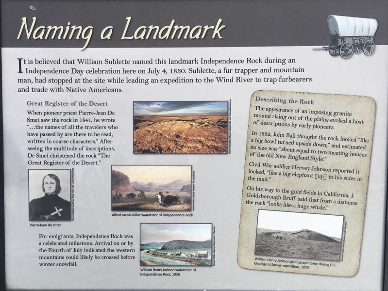 Naming a Landmark Marker image. Click for full size.