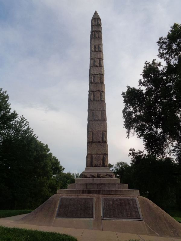 Confederate Cemetery Monument image. Click for full size.