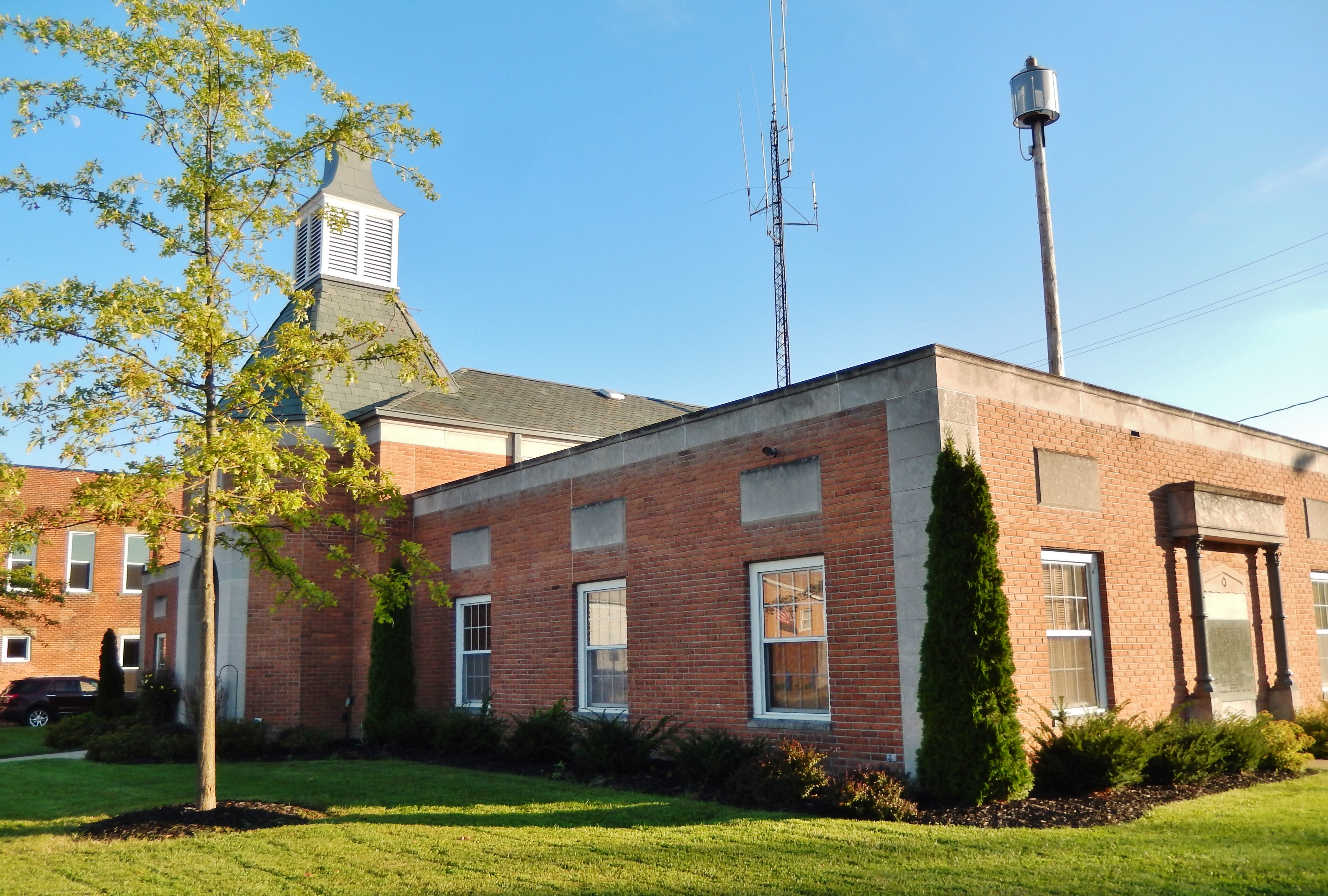 Mount Sterling Town Hall (<i>northwest corner</i>)