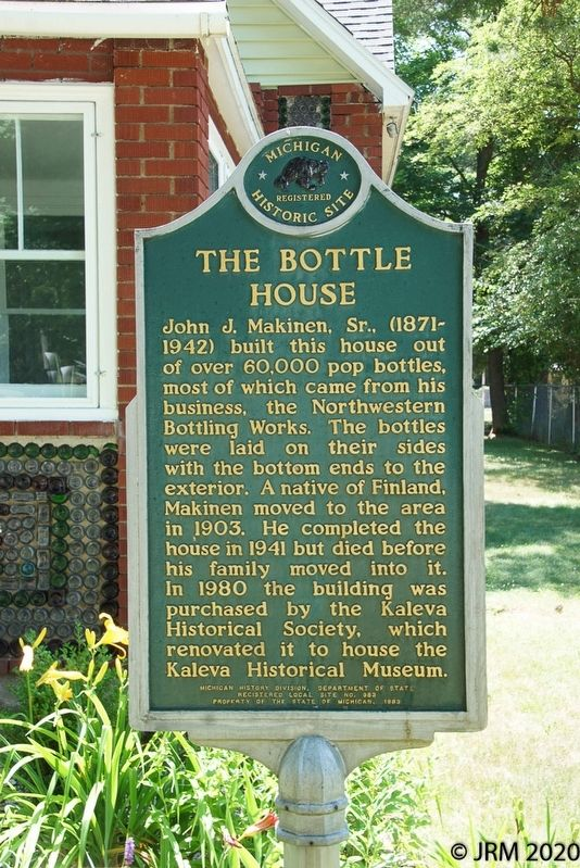 The Bottle House Marker image. Click for full size.