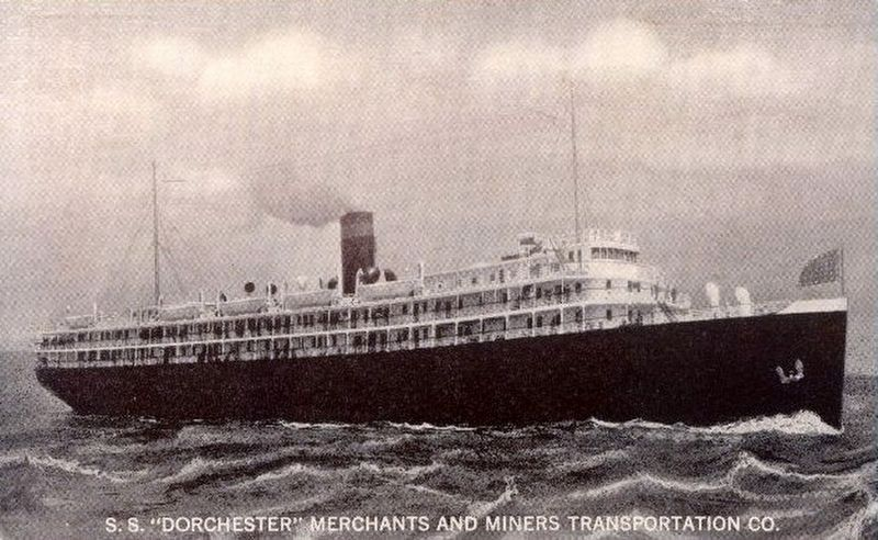 SS Dorchester image. Click for full size.