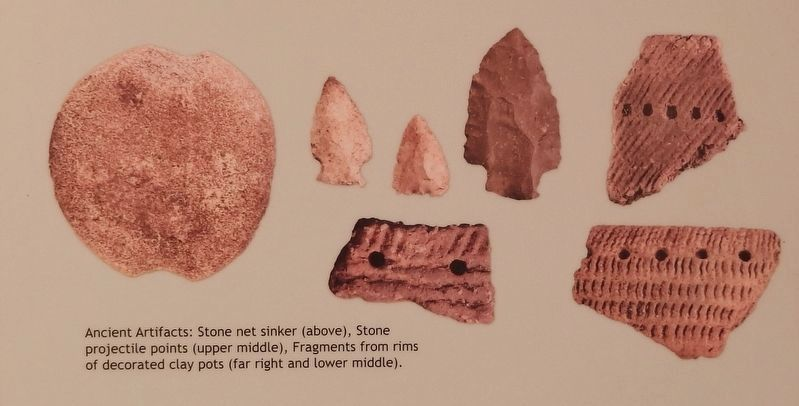 Marker detail: Ancient Artifacts image. Click for full size.