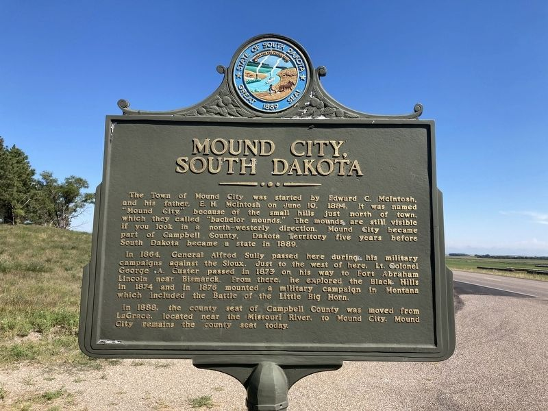 Mound City, South Dakota Marker image. Click for full size.