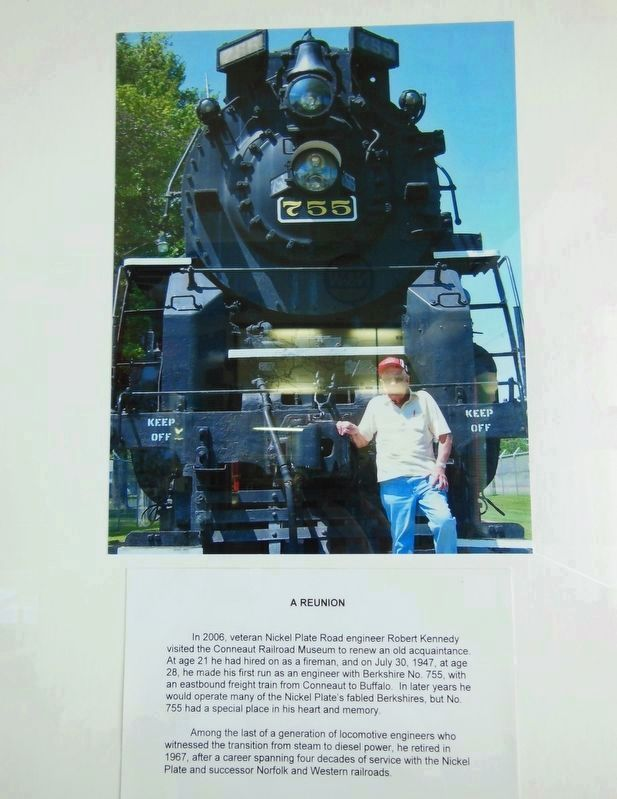 Locomotive No. 755 Reunion image. Click for full size.