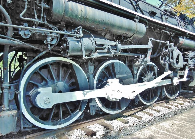 Locomotive No. 755 • 69 Inch Drive Wheels image. Click for full size.