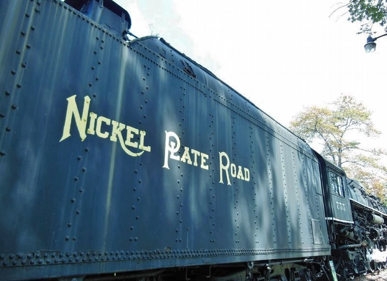 Nickel Plate Road Tender image. Click for full size.