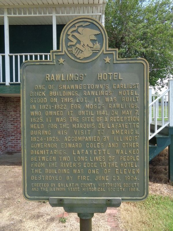 Rawlings' Hotel Marker image. Click for full size.