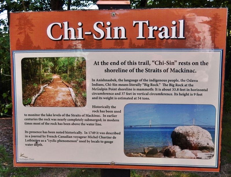 Chi-Sin Trail Marker image. Click for full size.