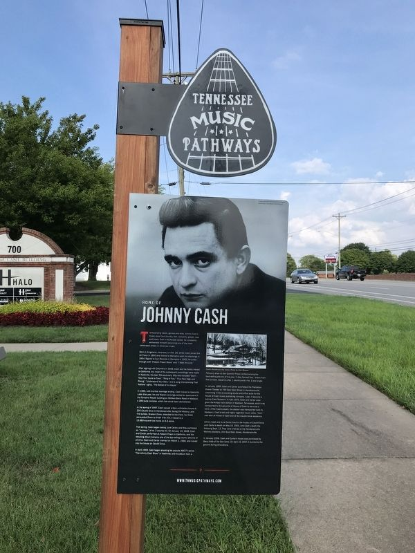 Home of Johnny Cash Marker image. Click for full size.