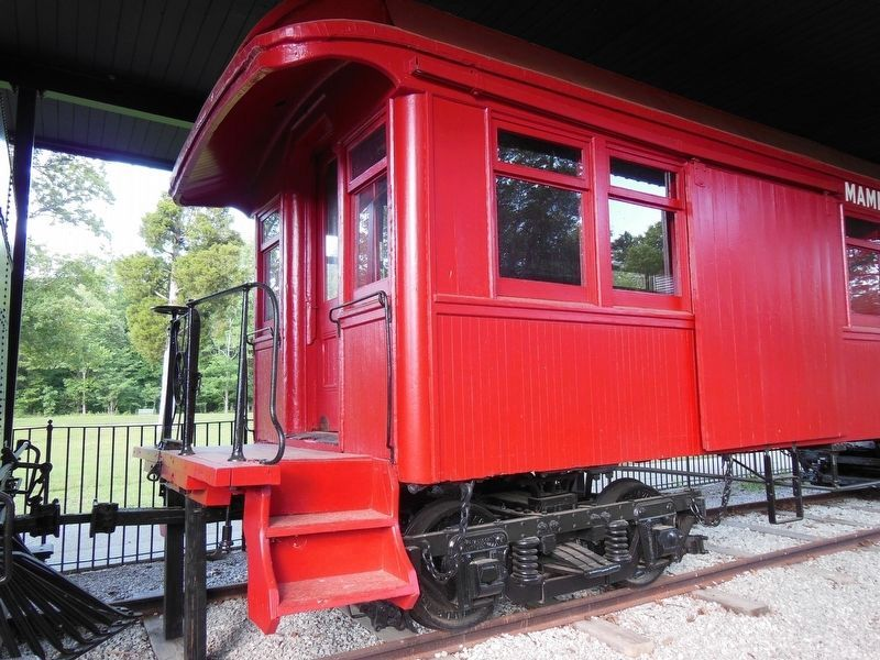 Mammoth Cave Railroad Coach Car image. Click for full size.