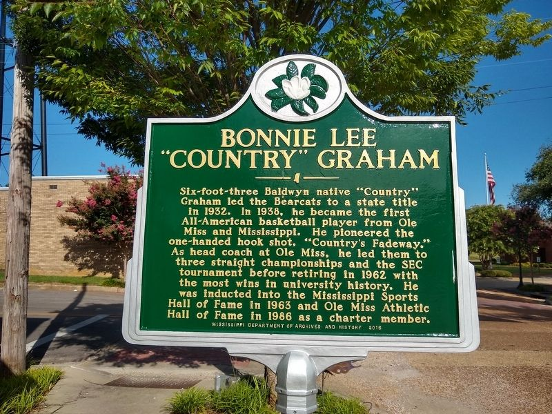 "Bonnie Lee ""Country"" Graham Marker image. Click for full size."