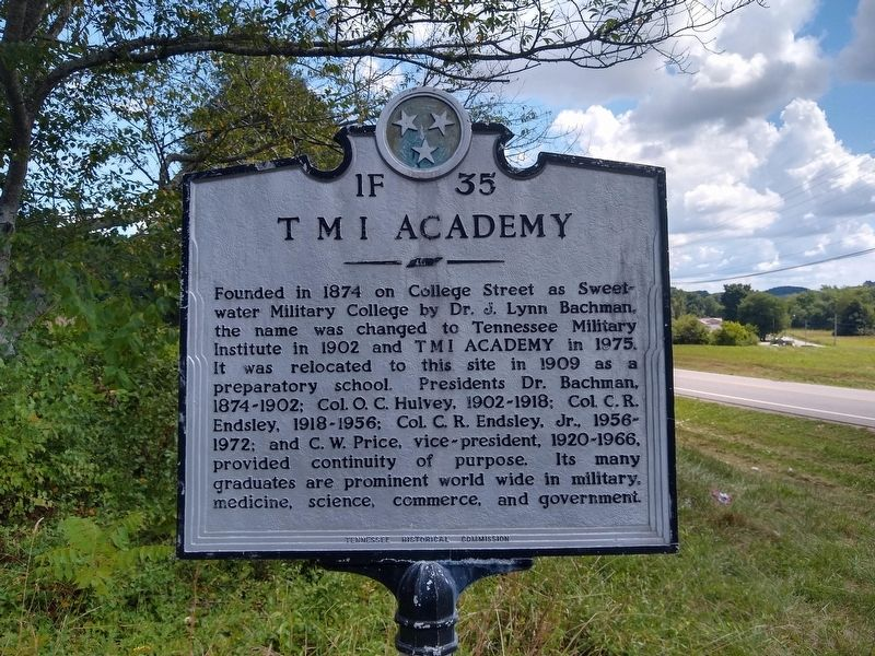 T M I Academy Marker image. Click for full size.