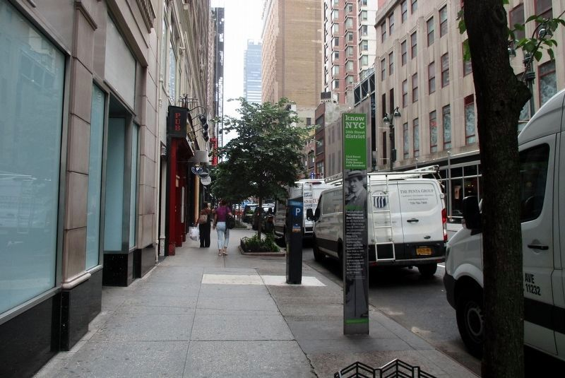 33rd Street Between Fifth Avenue and Broadway wayside venue image. Click for full size.
