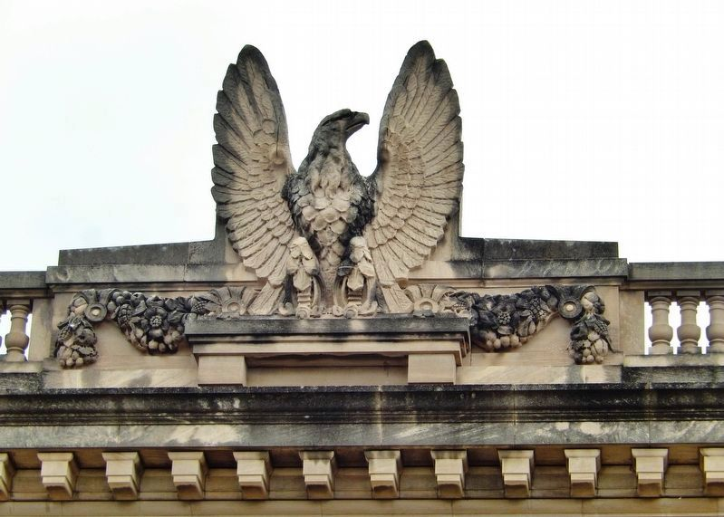 Old Watertown Post Office (<i>eagle above entrance</i>) image. Click for full size.