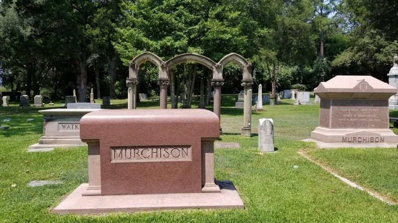 Clinton Williams Murchison, Sr. Marker image. Click for full size.