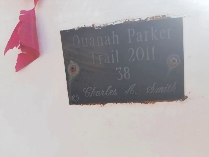 Quanah Parker Trail Marker 38 image. Click for full size.