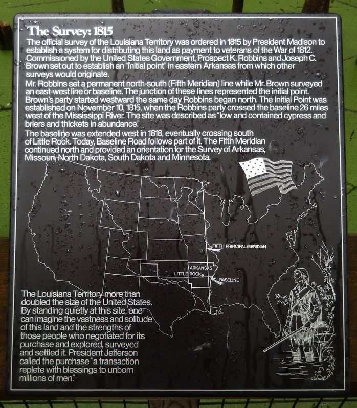 The Survey: 1815 Marker image. Click for full size.