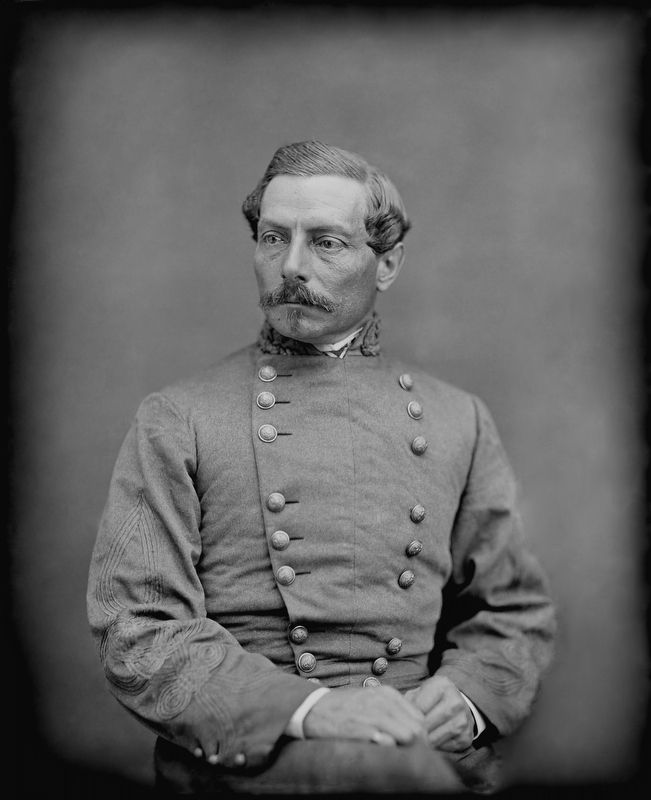 Gen. P.G.T. Beauregard, C.S.A. image. Click for full size.