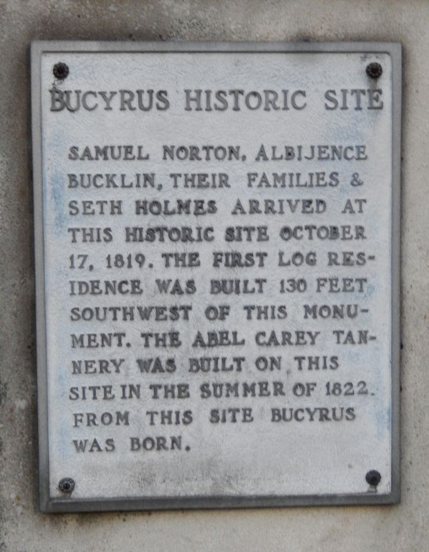 Bucyrus Historic Site Marker image. Click for full size.