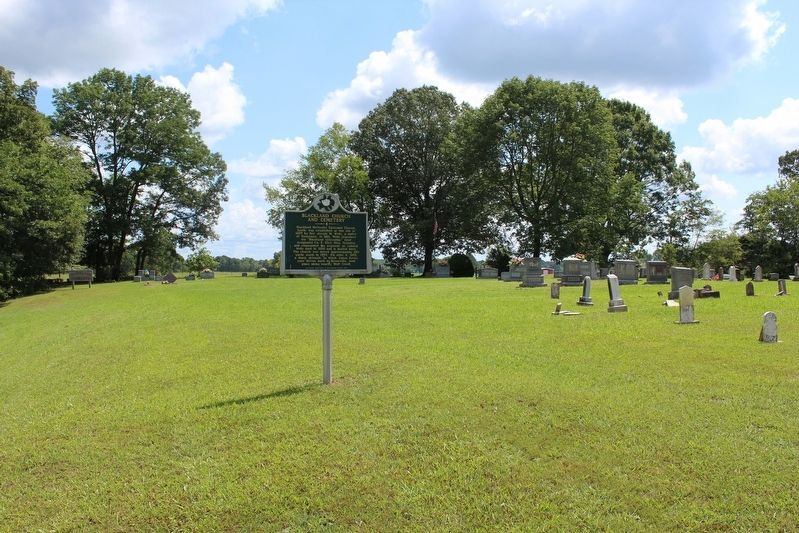 Blackland Church and Cemetery Marker image. Click for full size.