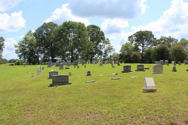 Blackland Cemetery image. Click for full size.