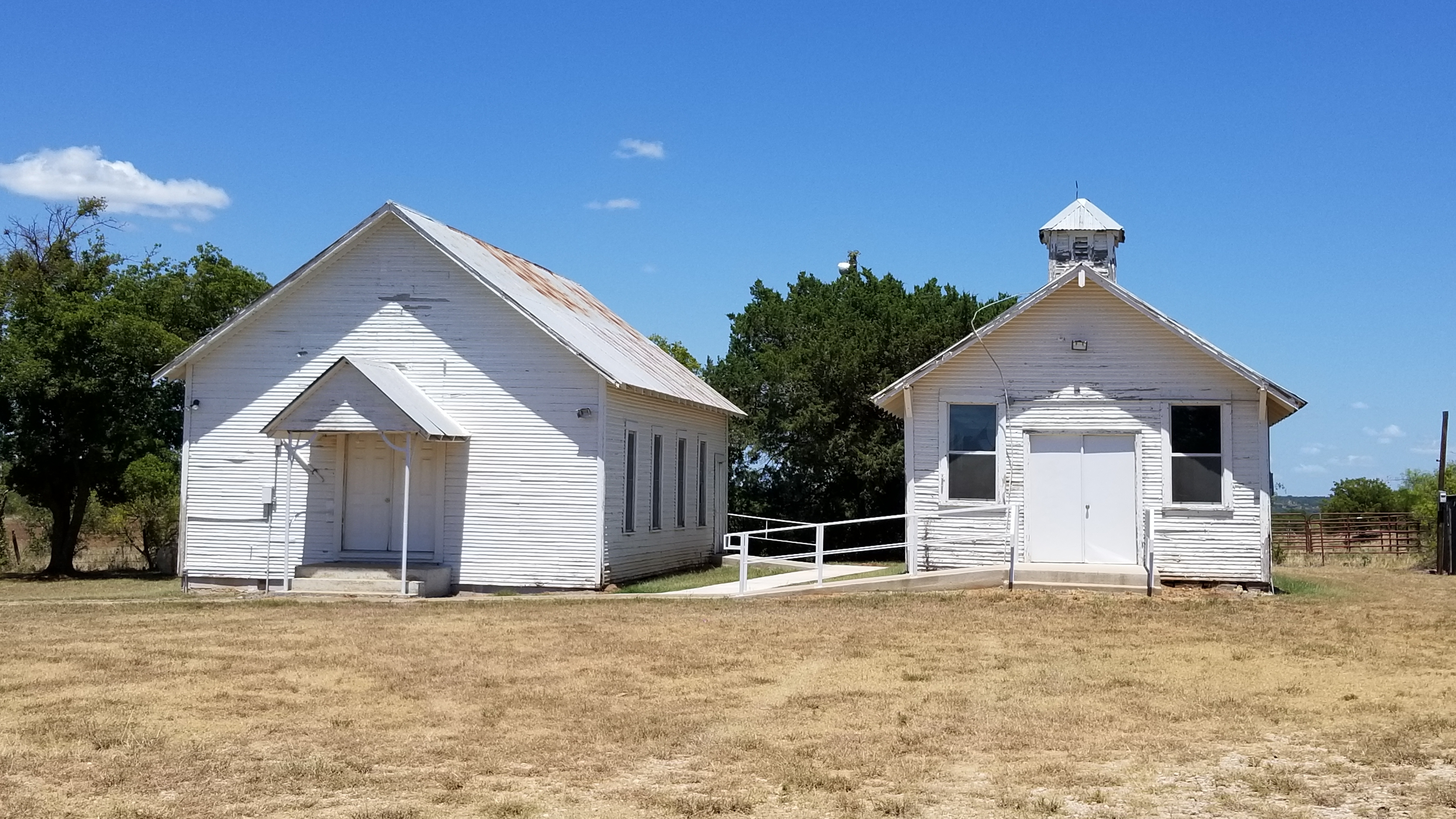 Two Remaining Buildings in Gunsight Community