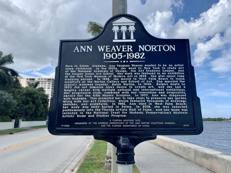 Ann Weaver Norton Marker image. Click for full size.