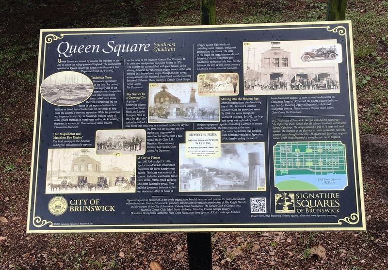 Queen Square Marker image. Click for full size.